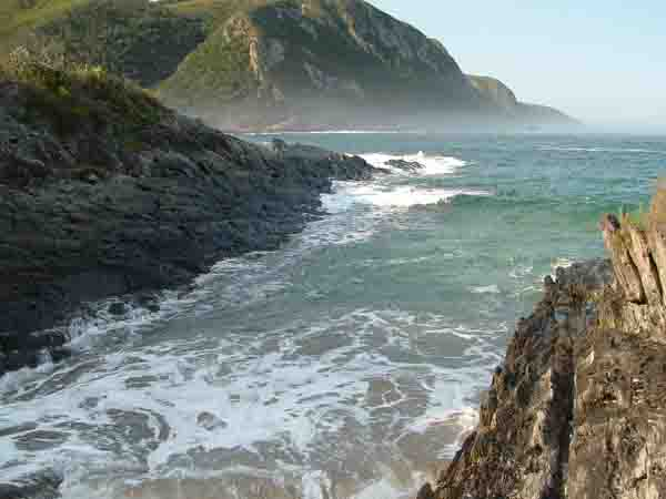 Storms River Mouth scenery