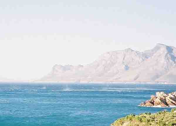 Wind over False Bay