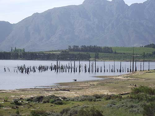 Theewaterskloof Dam Cape Town