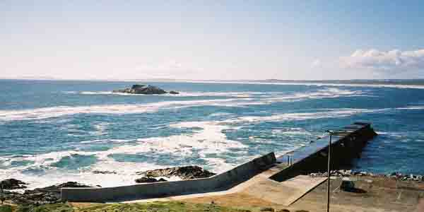Yzerfontein jetty